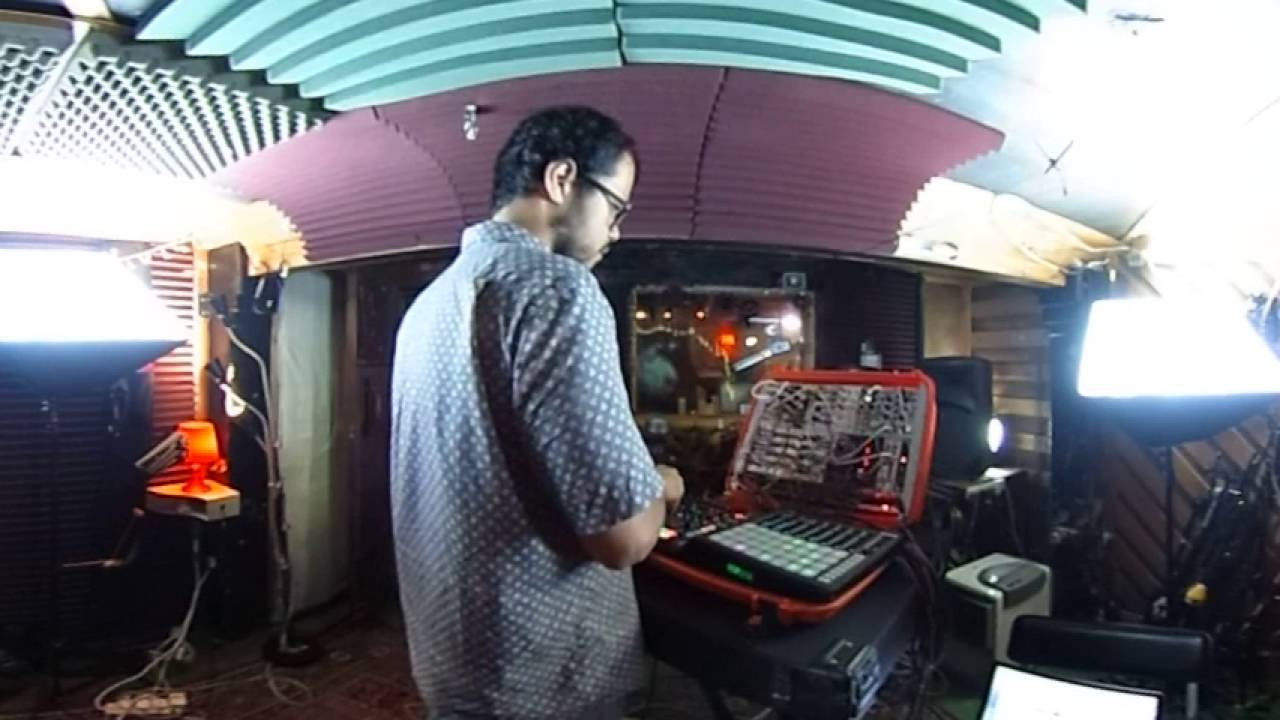 360 Flow Machine jam with Cherif Hashizume @ Cafe Music Studios